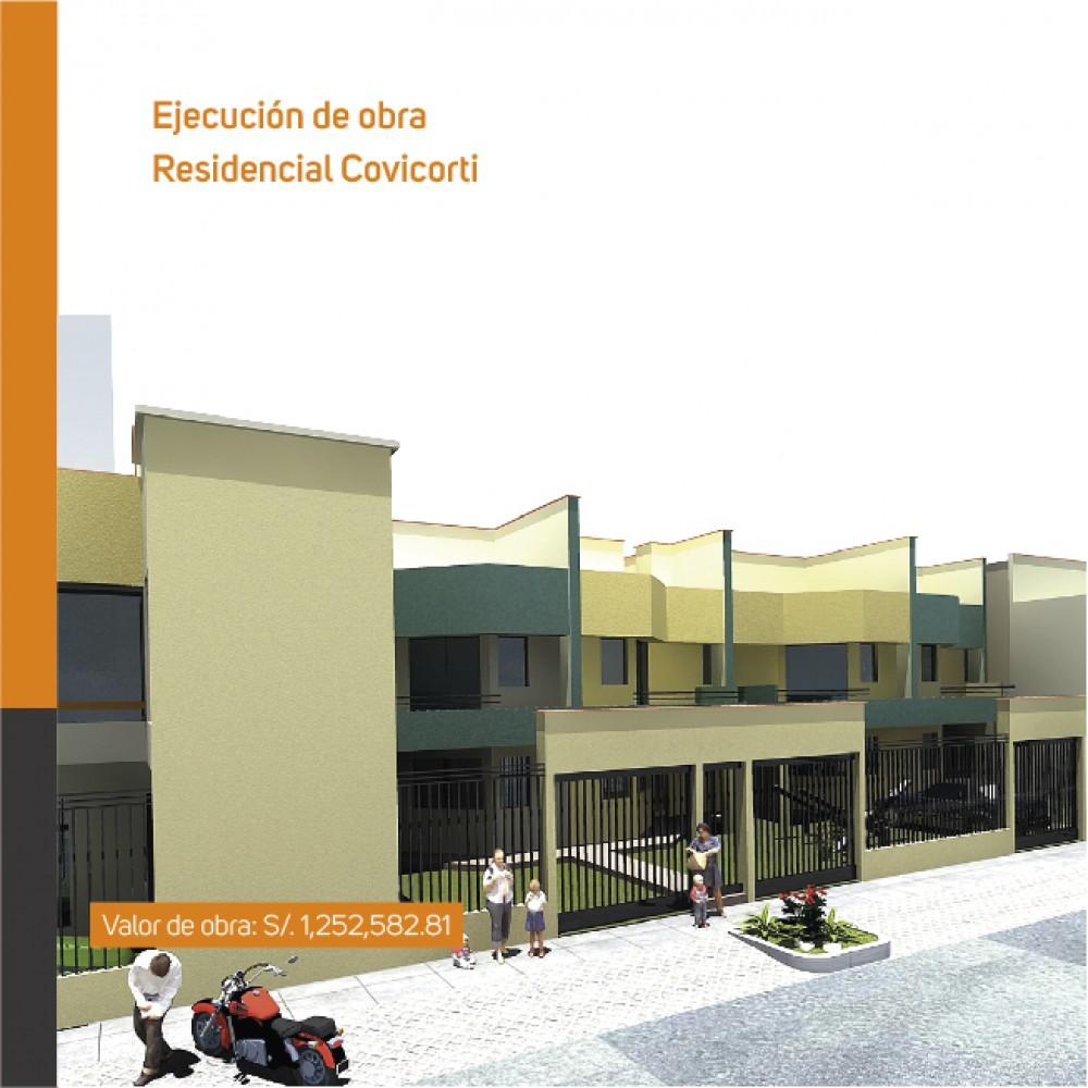 Ejecución de obras: Residencial Covícorti