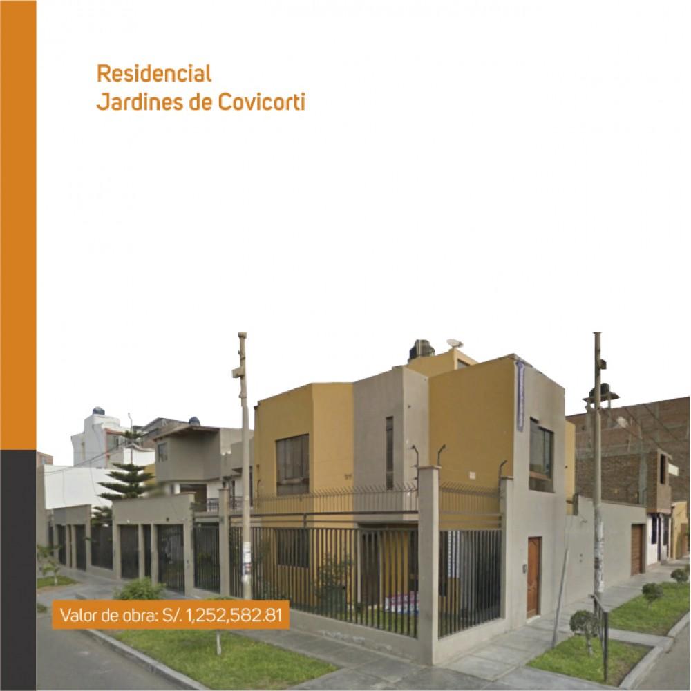 Residencial: Jardines de Covícorti