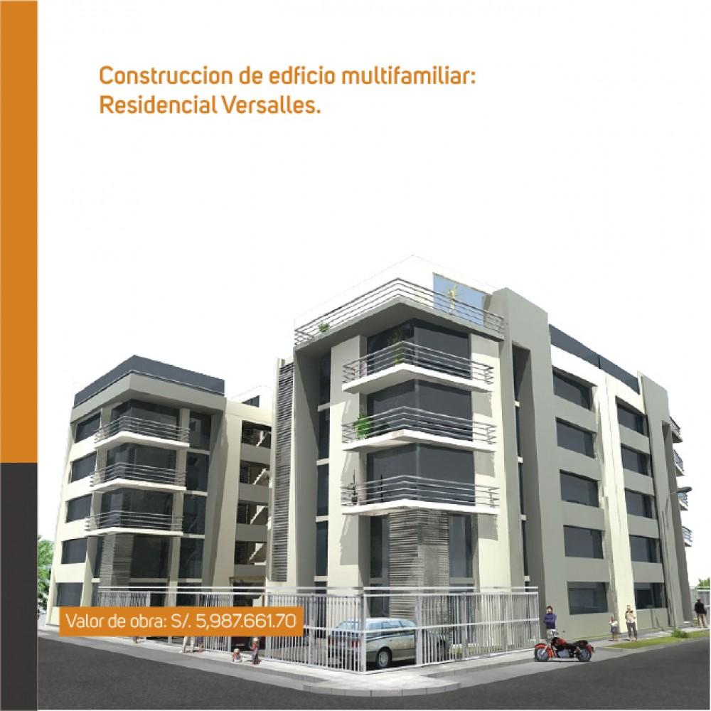 Construcción de edificio multifamiliar: Residencial Versalles