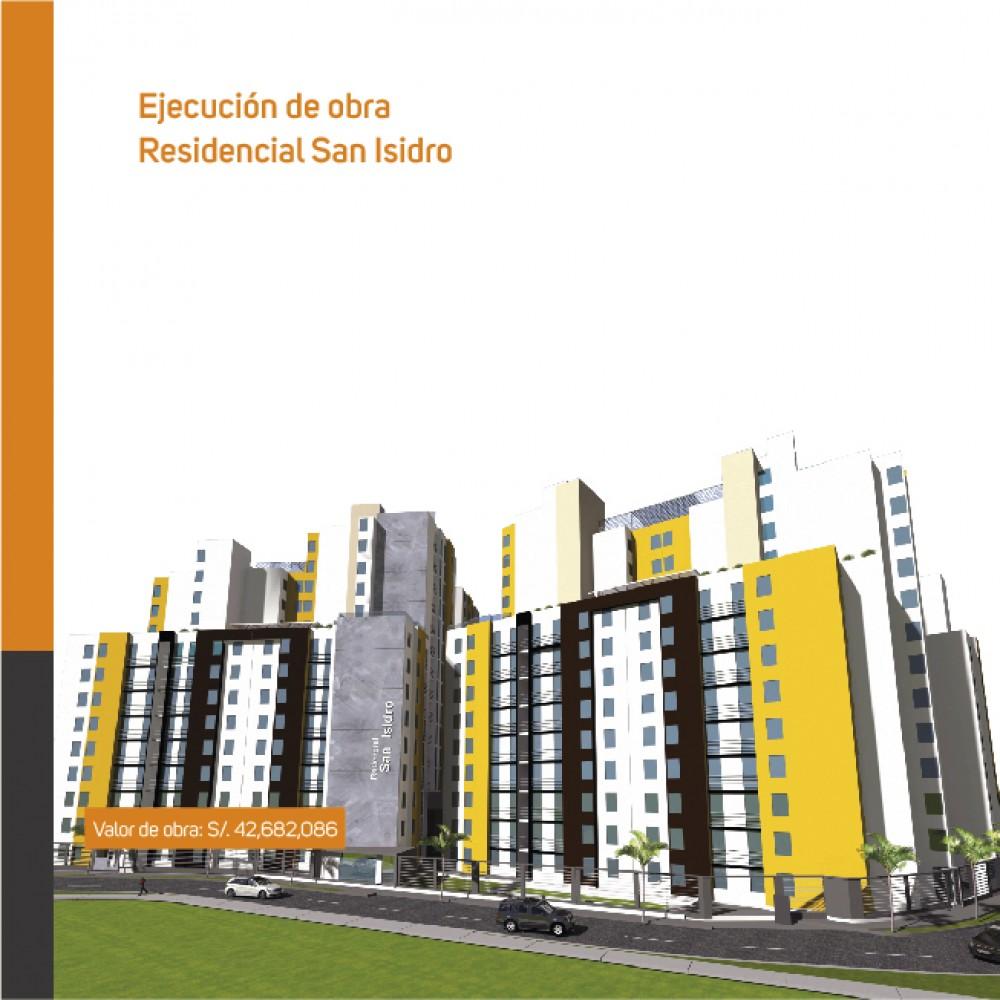 Ejecución de obra: Residencial San Isidro