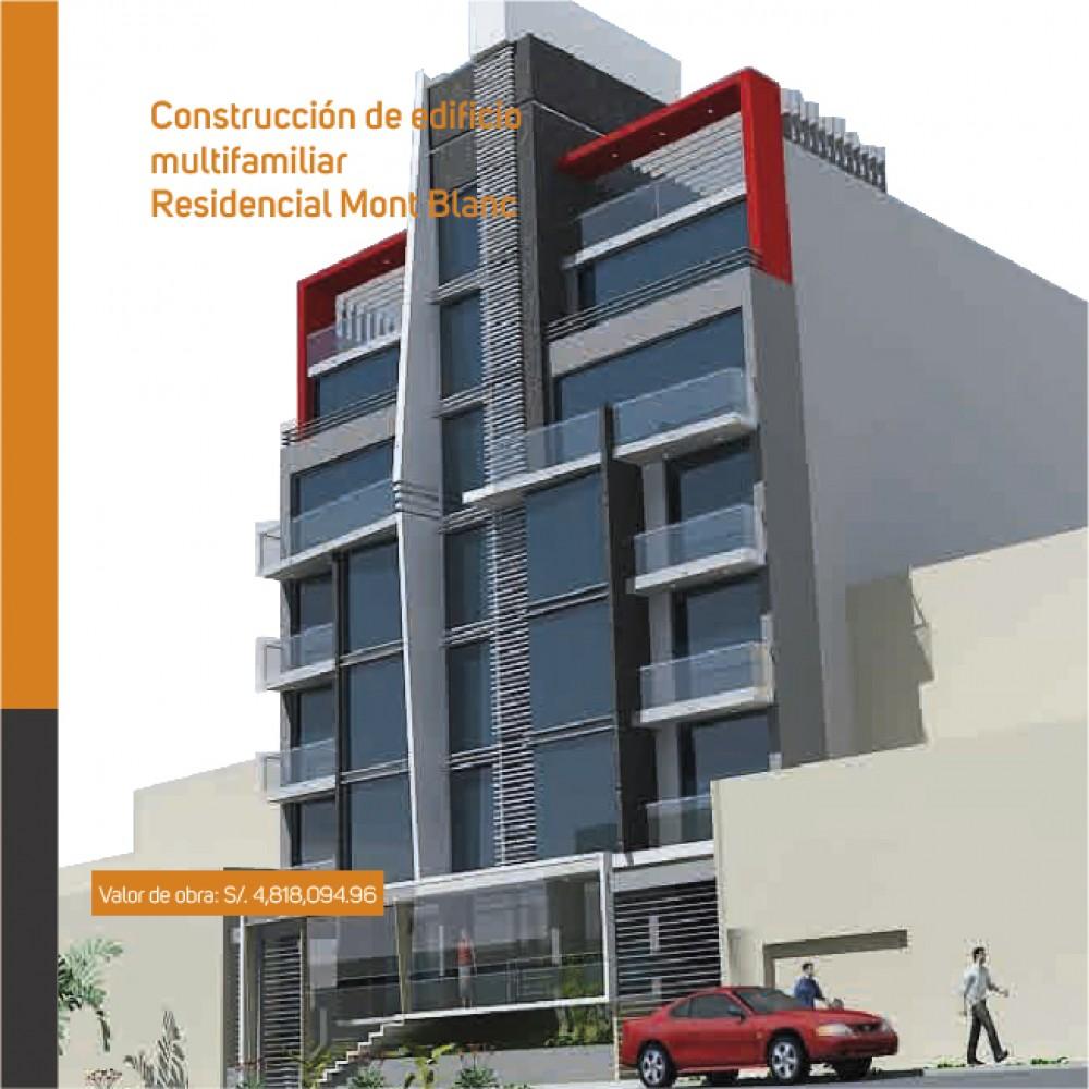 Construcción de edificio multifamiliar: Residencial Mont Blanc